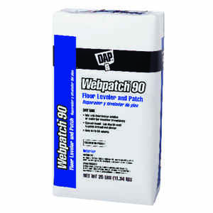 DAP  Webpatch 90  White  Patch and Leveler  25 lb.