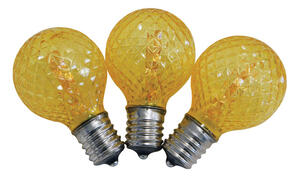 Celebrations  G40  LED  Replacement Bulb  Orange  25 lights