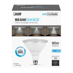 FEIT Electric  Intellibulb BeamChoice  PAR38  E26 (Medium)  LED Bulb  Daylight  90 Watt Equivalence