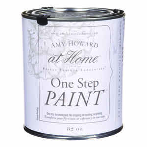 Amy Howard at Home  Flat Chalky Finish  Black  Latex  One Step Paint  32 oz.