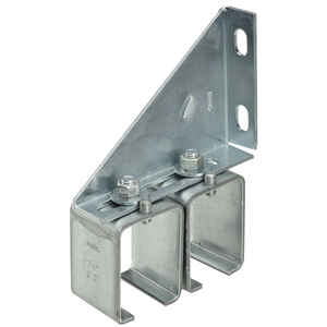 Stanley  Steel  Double Box Rail Splice Brackets  300