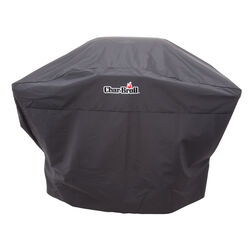 Char-Broil Black Grill Cover For 2 burner gas grills- medium charcoal grills and sm 52 in. W x 48