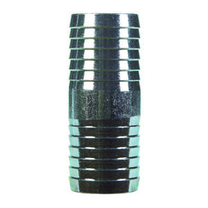 BK Products  1-1/4 in. Barb   x 1-1/4 in. Dia. Barb  Galvanized Steel  Coupling