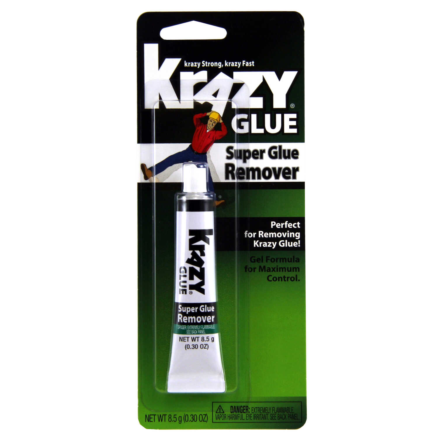Krazy Glue Gel Adhesive Remover 8 5 Gm Ace Hardware