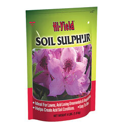Hi-Yield Soil Sulphur 200 sq. ft. 4 lb.