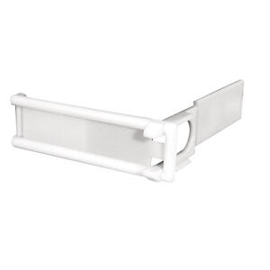 ChildSafe  White  Plastic  Appliance Latch  1 pk
