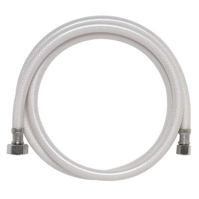 Ace  3/8 in. Compression   x 1/2 in. Dia. FIP  60 in. PVC  Supply Line
