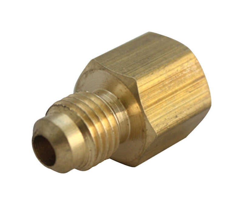 B & K  5/8 in. Flare   x 3/4 in. Dia. FPT  Brass  Flare Adapter