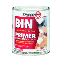 Zinsser B-I-N White Flat Shellac-Based Primer and Sealer 1 qt.