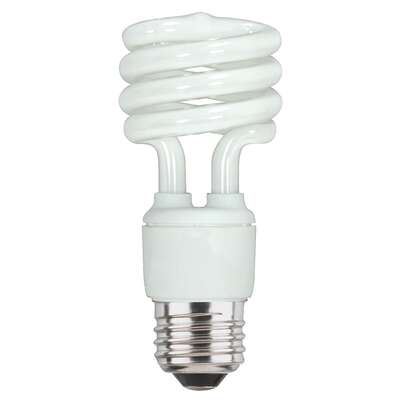 Westinghouse 13 watt E26 4.38 in. L CFL Bulb Warm White Spiral 2700 K 1 pk