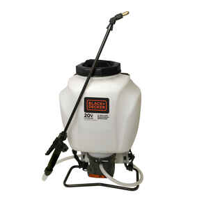 Black and Decker  Backpack Sprayer  4 gal.