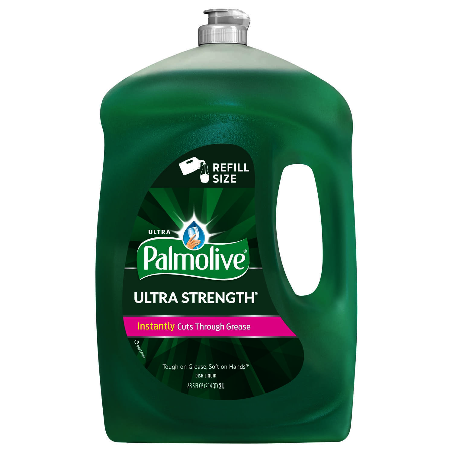 Palmolive  Ultra Strength  Original Scent Liquid  Dish Soap  68.5 oz. 1 pk
