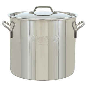 Bayou Classic  Stockpot with Lid  Stainless Steel  30 qt.