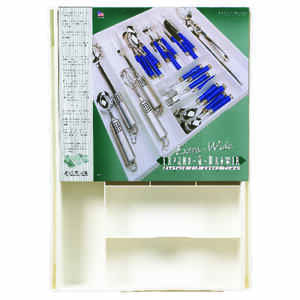 Dial Industries  2 in. H x 18 in. W x 24 in. L White  Plastic  Adjustable Cutlery Tray