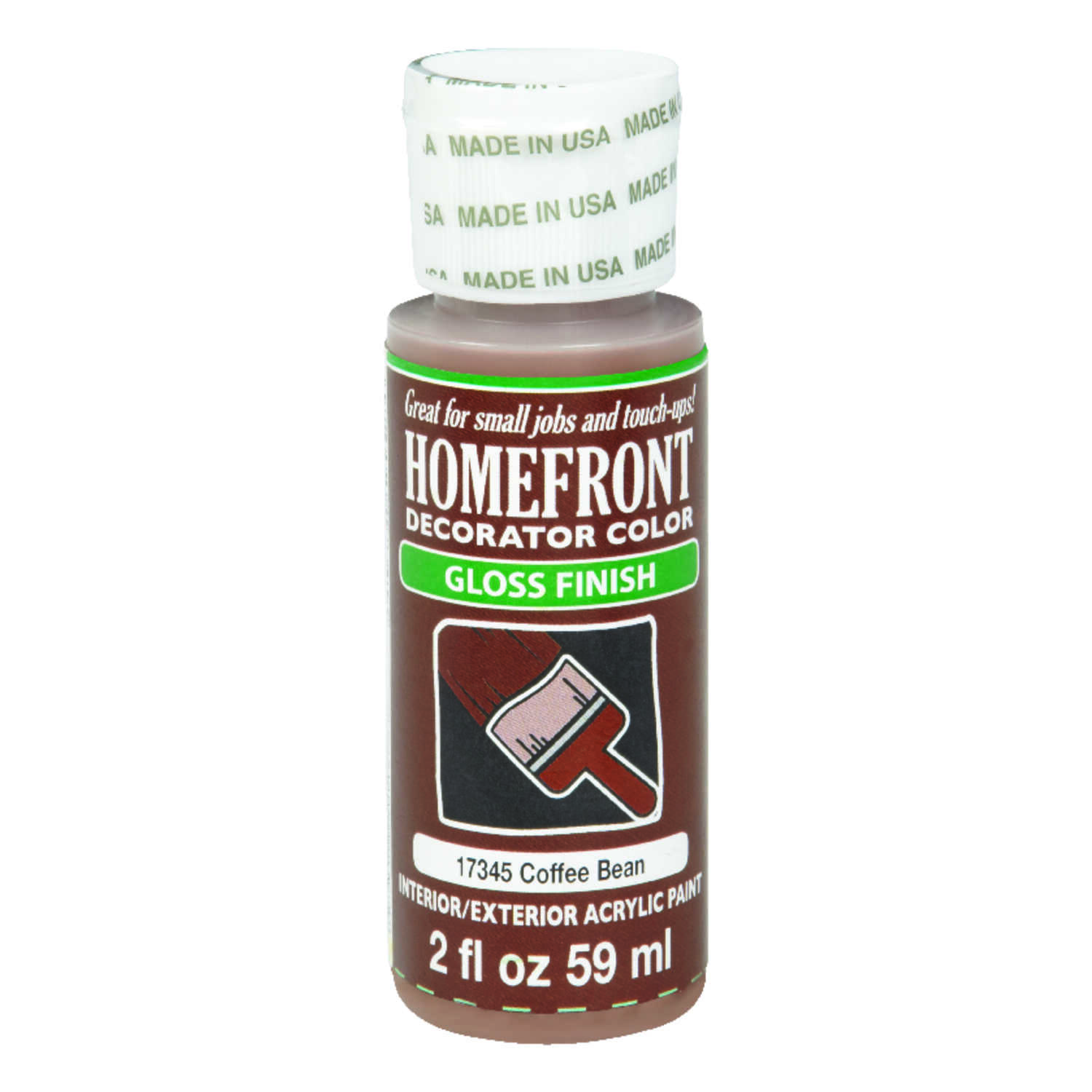 Homefront  Gloss  Coffee Bean  Hobby Paint  2 oz.