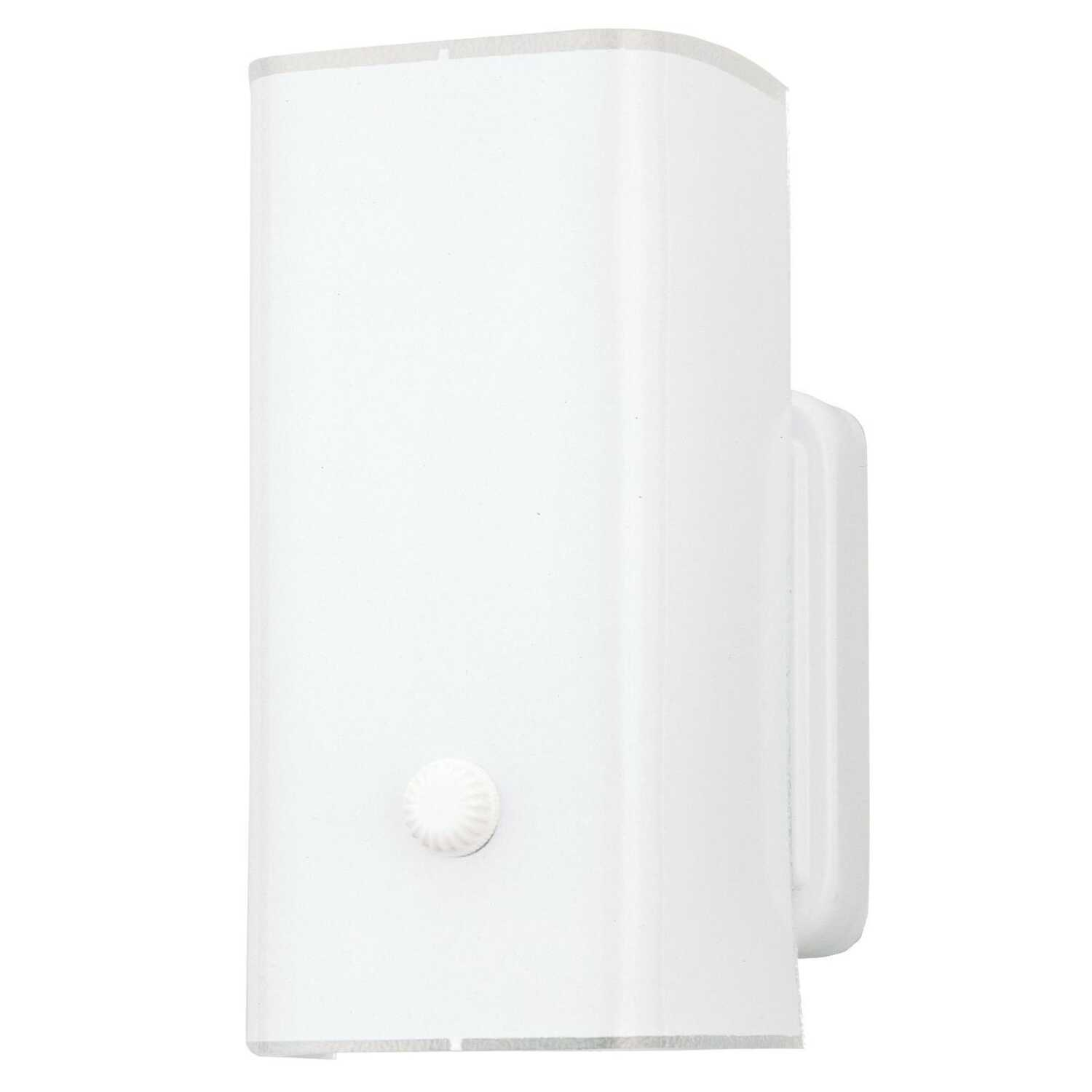 Westinghouse  Natural  1  Wall Sconce  White