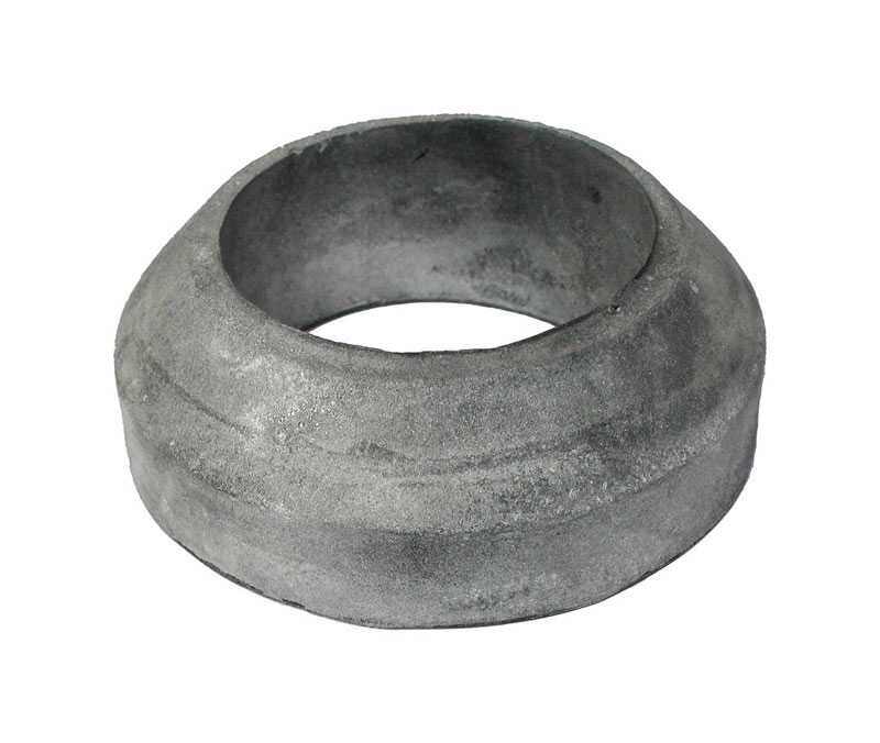 Ace  Tank to Bowl Gasket  Black  Rubber  For Crane