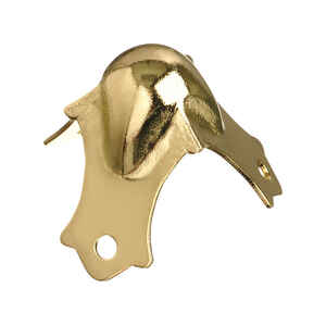 Ace  Bright  Brass  Decorative Corner  4  1.3 in.