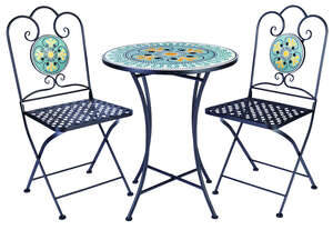 Infinity  3 pc. Mosaic  Bistro Set