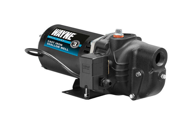 Wayne  1 hp 1084 gph Cast Iron  Convertible Jet Pump