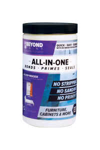 BEYOND PAINT  All-In-One  Matte  Pewter  Water-Based  Acrylic  One Step Paint  1 qt.
