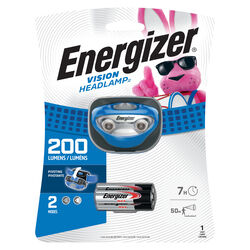 Energizer Vision 200 lumens Blue LED Headlight AAA Battery