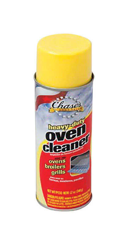 Chase  No Scent Heavy Duty Oven Cleaner  12 oz. Spray