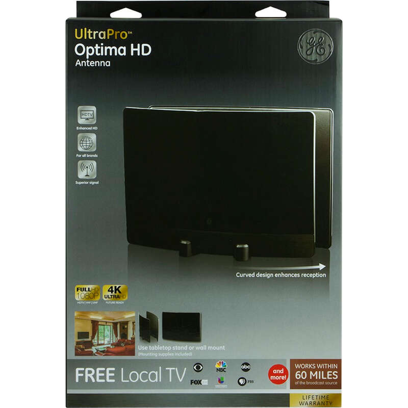 GE Ultapro Indoor HDTV Antenna 1 each