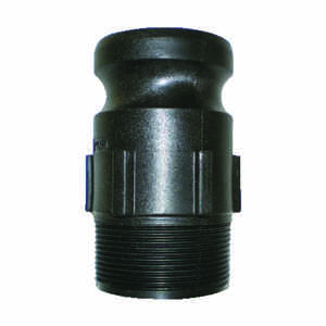 Pacer  Polypropylene  Male Adapter  1-1/2 in. Dia. x 1-1/2 in. Dia. Black  1 pk