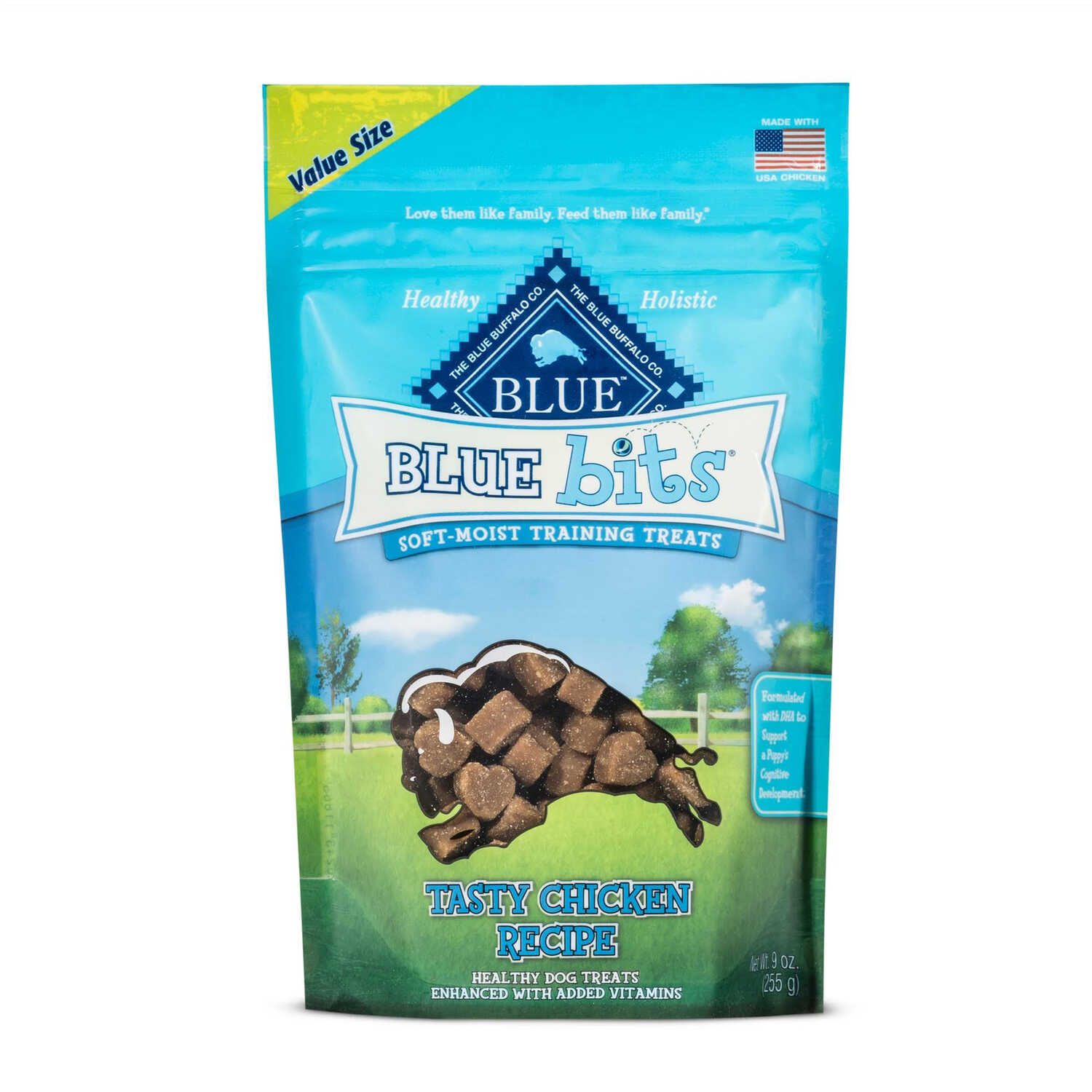 Blue Buffalo  Blue Wilderness  Tasty Chicken  Dog  Treats  1 pk