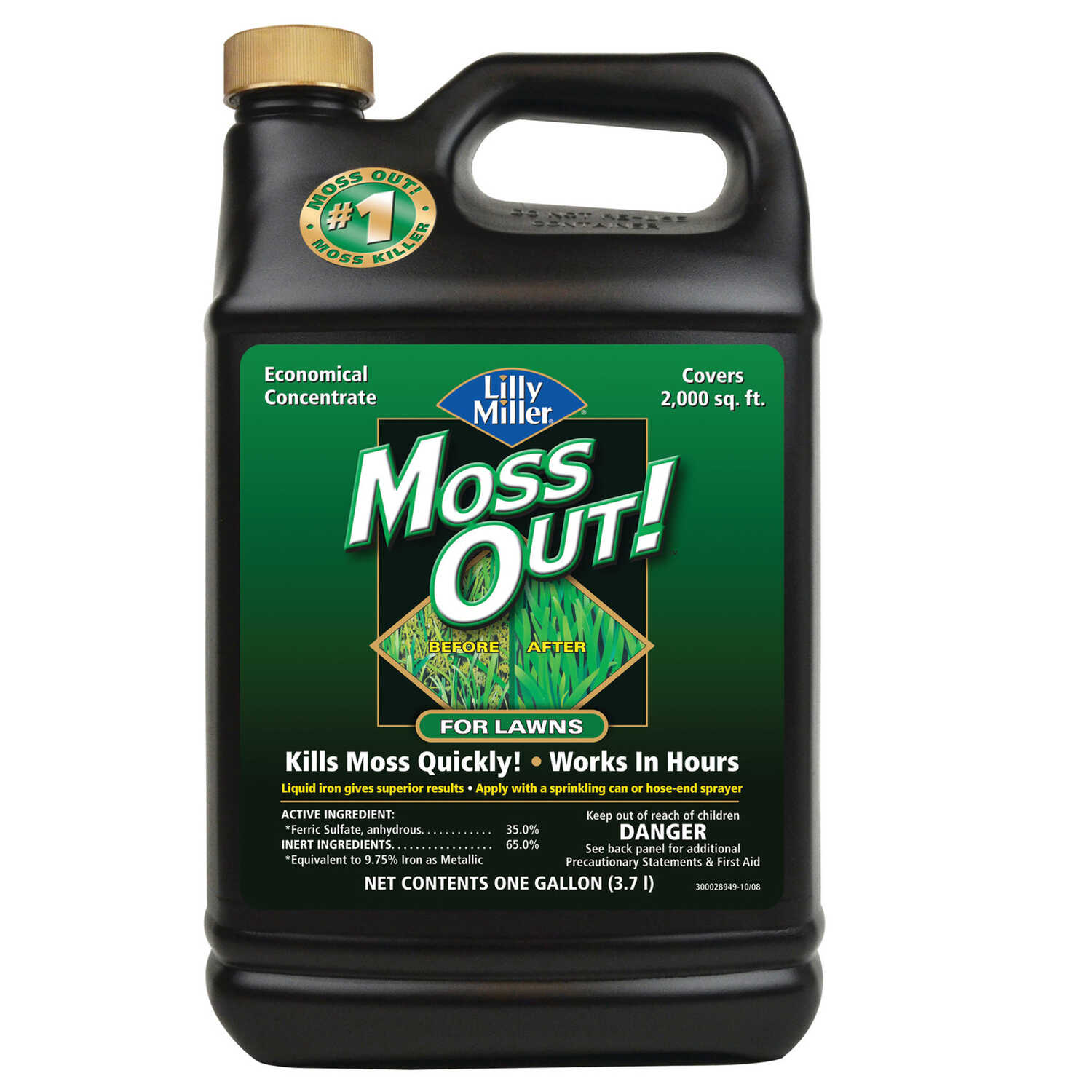Lilly Miller  Moss Out  Concentrate  Moss Killer  1 gal.