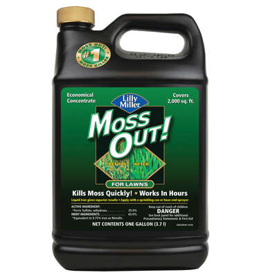 Lilly Miller  Moss Out  Moss Killer  Concentrate  1 gal.