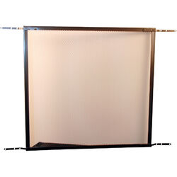 Prime-Line Bronze Aluminum Screen Door Grille 1 pc.