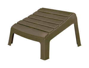 Adams  Brown  Polypropylene  Ottoman  Adirondack