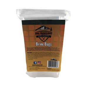 5280 Culinary  BBQ Provisions  24 in. W x 30 in. L Clear  Brine Bag