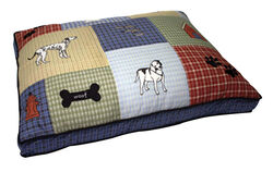 Aspen Pet  Polyester  Pet Bed  3 in. H x 36 in. W x 27 in. L