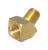 JMF  3/8 in. FPT   x 3/8 in. Dia. MPT  Brass  45 Degree Street Elbow