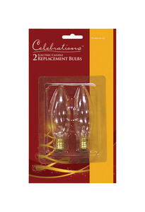 Celebrations  C7  Replacement Bulb  Clear  2 lights