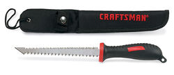 Craftsman  6 in. Carbon Steel  Double Edge Pull Saw  1 pc.