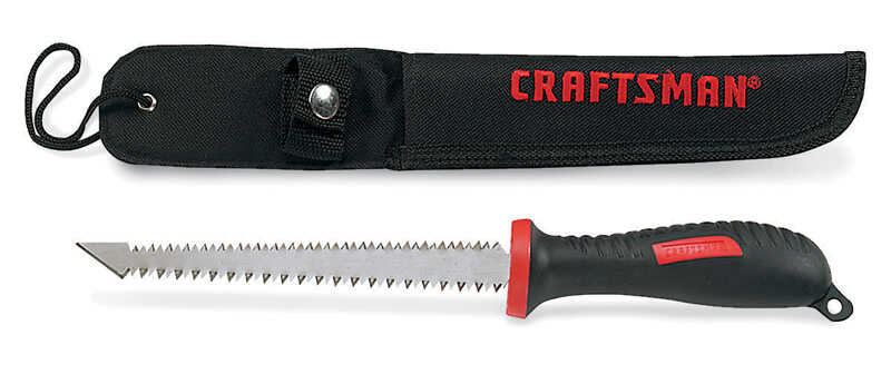 Craftsman  6 in. Carbon Steel  Double Edge Pull Saw