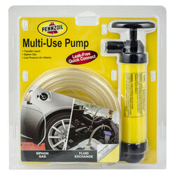 Custom Accessories Pennzoil Piston Action Plastic 51 in. Siphon Pump