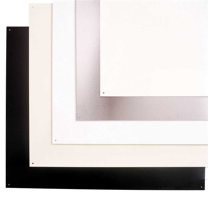 Broan  30 in. W White Almond  Wall Shield