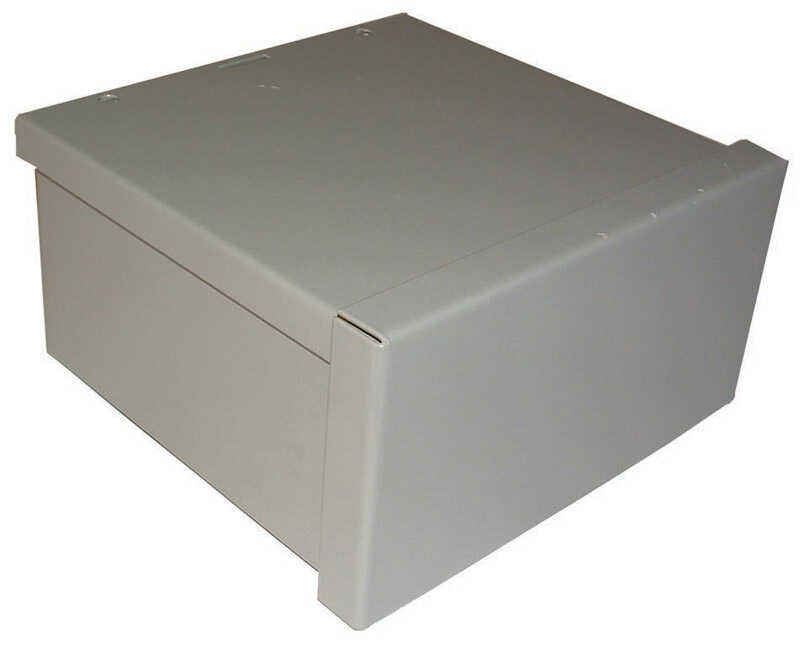 Raco  Rectangle  Steel  Screw Box Cover  For Wiring Boxes and Junction Boxes