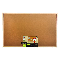 Quartet  22.5 in. H x 35 in. W Screw-Mounted  Bulletin Board