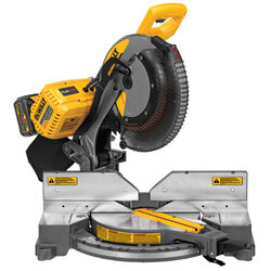 DeWalt  FlexVolt  12 in. Cordless  Brushless Dual-Bevel Compound Miter Saw  15 amps 3800 rpm