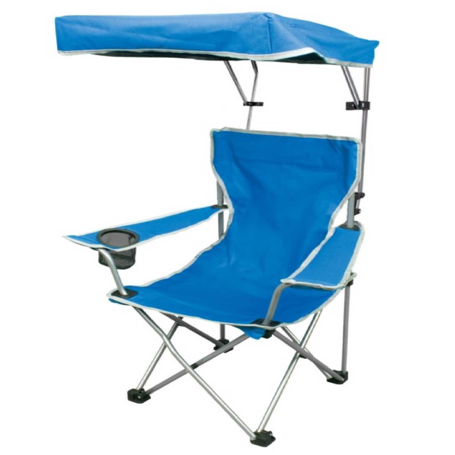 Quik Shade Adjustable Blue Canopy Folding Kid S Chair