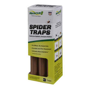 RESCUE  Spider Trap  3 pk