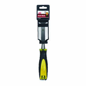 Ace  Pro Series  1-1/2 in. W Carbon Steel  Wood Chisel  Black/Yellow  1 pk