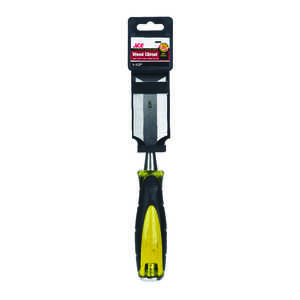 Ace  Pro Series  1-1/2  W Carbon Steel  Wood Chisel  Black/Yellow  1 pk