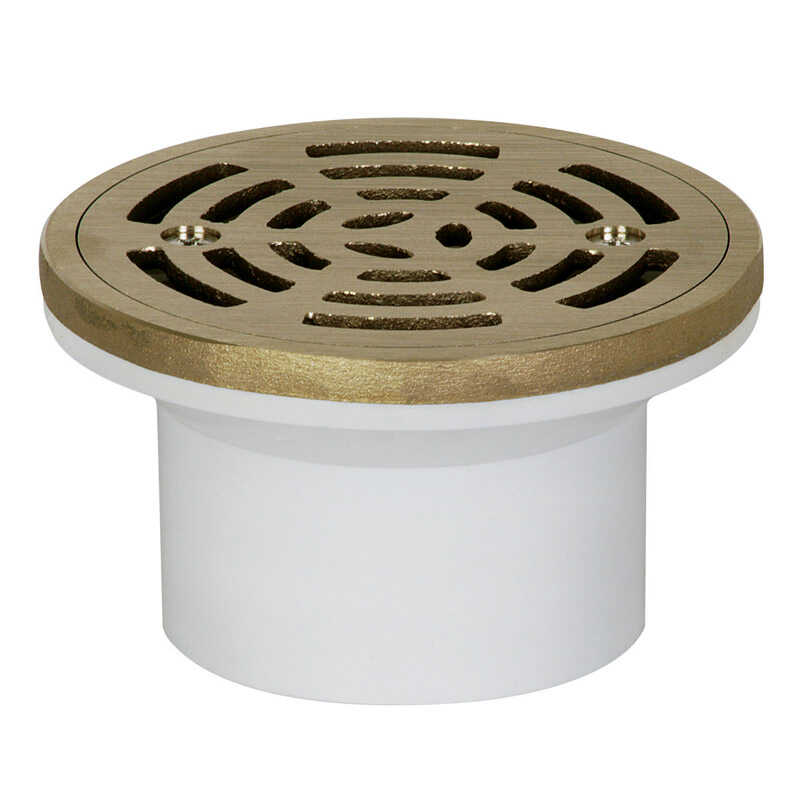 Sioux Chief  2 or 3 in. Dia. PVC  General Purpose Floor Drain